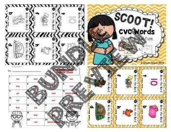 Short Vowel Scoot: Bundle