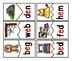 CVC Words:  Short E Two Piece Puzzles