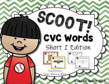CVC Words: Short I Scoot
