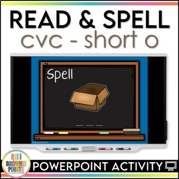 CVC Words - Short O