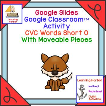 CVC Words Short O Sound for Google Slides