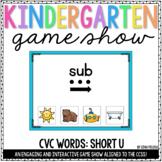CVC Words (Short U) PowerPoints | Distance Learning
