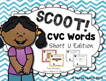 CVC Words: Short U Scoot