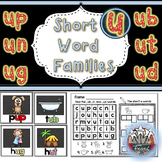 CVC Words: Short U Word Work and Printables