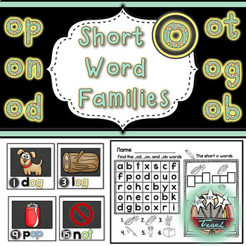 Short Vowels Words BUNDLE