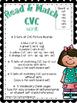 CVC Words {Short a Read & Match}