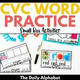 CVC Words: Small Box Activities