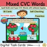 CVC Words Spell Build Apples Fruit Fall Autumn BOOM Cards™
