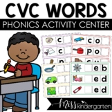 CVC Words Spelling Cards Write and Wipe