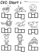 CVC Words Spelling Practice