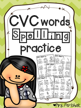 CVC Words Spelling Practice