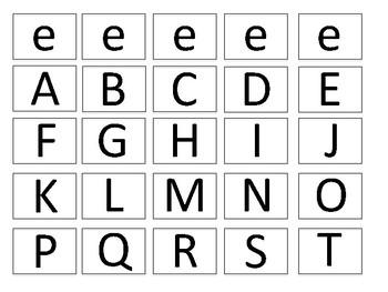 """CVC Words Spelling- Short Vowel """"e"""""""