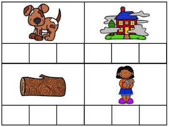 CVC Words Spelling- short vowel 'o'