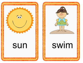 CVC Words Summer Fun! (Minimal Prep, Multiple Printables!)