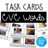 CVC Words Task Cards- 3 Levels #spedprepsummer3