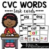 CVC Words Task Cards