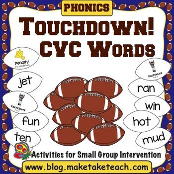 CVC Words - Touchdown!