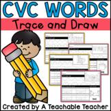 CVC Words Tracing (Print + DNealian)
