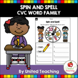 CVC Words Spin and Spell