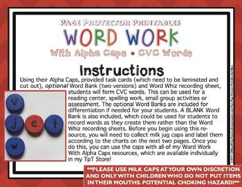 CVC Task Cards