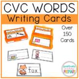 CVC Words Writing Cards