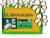CVC Words all sounds 2nd Version Literacy Center- digital