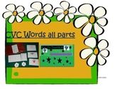 CVC Words all sounds Literacy center Digital Download