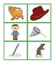 CVC Words and Pictures Card Match
