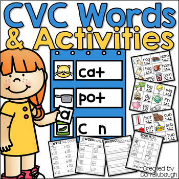 CVC Words and Activities