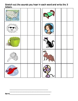 CVC Words and Vowel activities