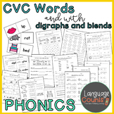 ESOL and Primary Phonics 3- CVC Words and Words with Digraphs and Blends