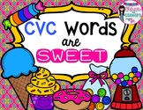 CVC Words are SWEET!- Literacy Pack