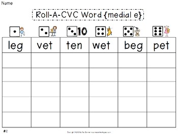 CVC Words {medial e}