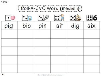 CVC Words {medial i}