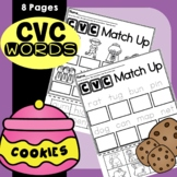 CVC Words Worksheets Distance Learning