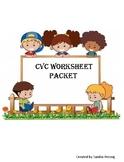 CVC Worksheet Packet