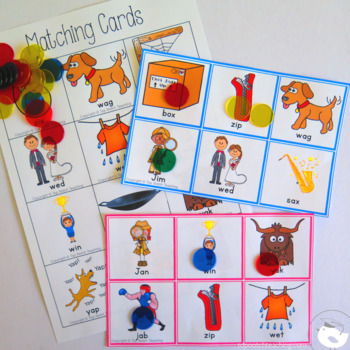 CVC Worksheets And Games Bundle