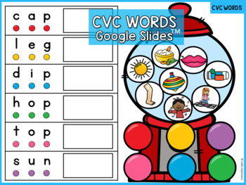 CVC Worksheets - CVC Activities Blend, Write and Color