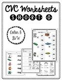 CVC Worksheets: Short O