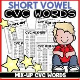 CVC Worksheets Spell & Write