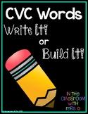 CVC: Write It or Build It!