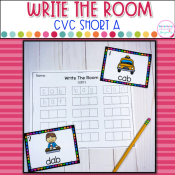 CVC Write The Room- Short A