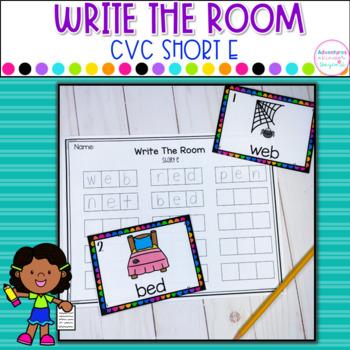 CVC Write The Room- Short E