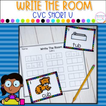 CVC Write The Room- Short U