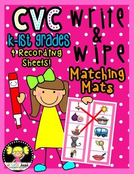 CVC Write & Wipe Matching