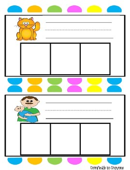 CVC Write, Wipe, and Spell Cards