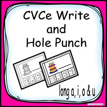 CVCE Write and Punch