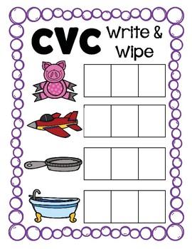 CVC Write and Wipe
