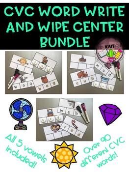 CVC Write and Wipe BUNDLE