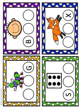 CVC Write and Wipe Literacy Center Cards
